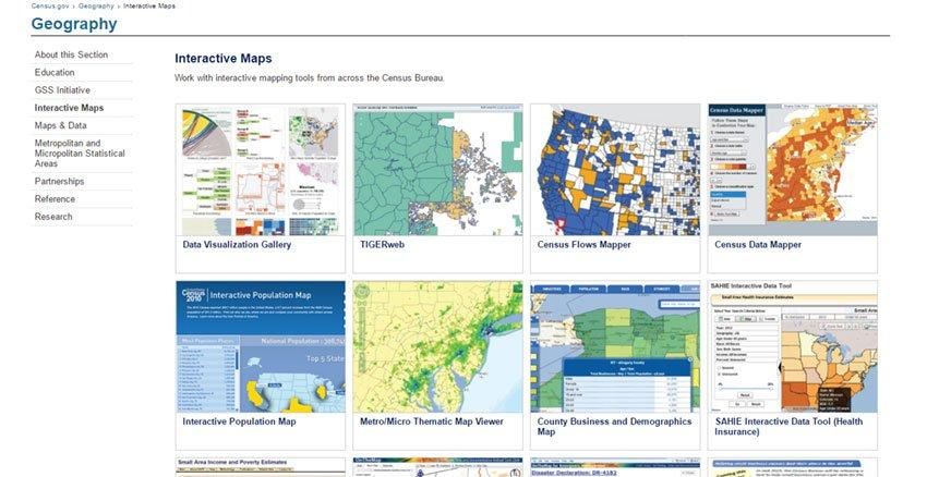 Economic Data Platteville Area Industrial Development Corporation - Us census buraue interactive map education